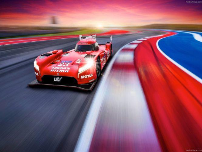 Nissan GT-R LMP1 Nismo Race Car Le-Mans wallpaper