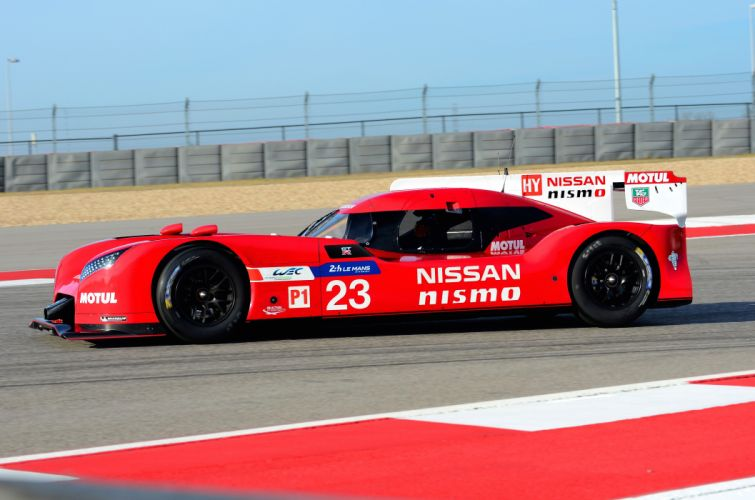 Nissan GT-R LMP1 Nismo Race Car Le-Mans wallpaper