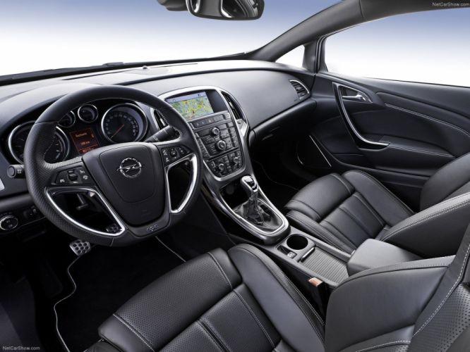 Opel Astra OPC 2013 wallpaper