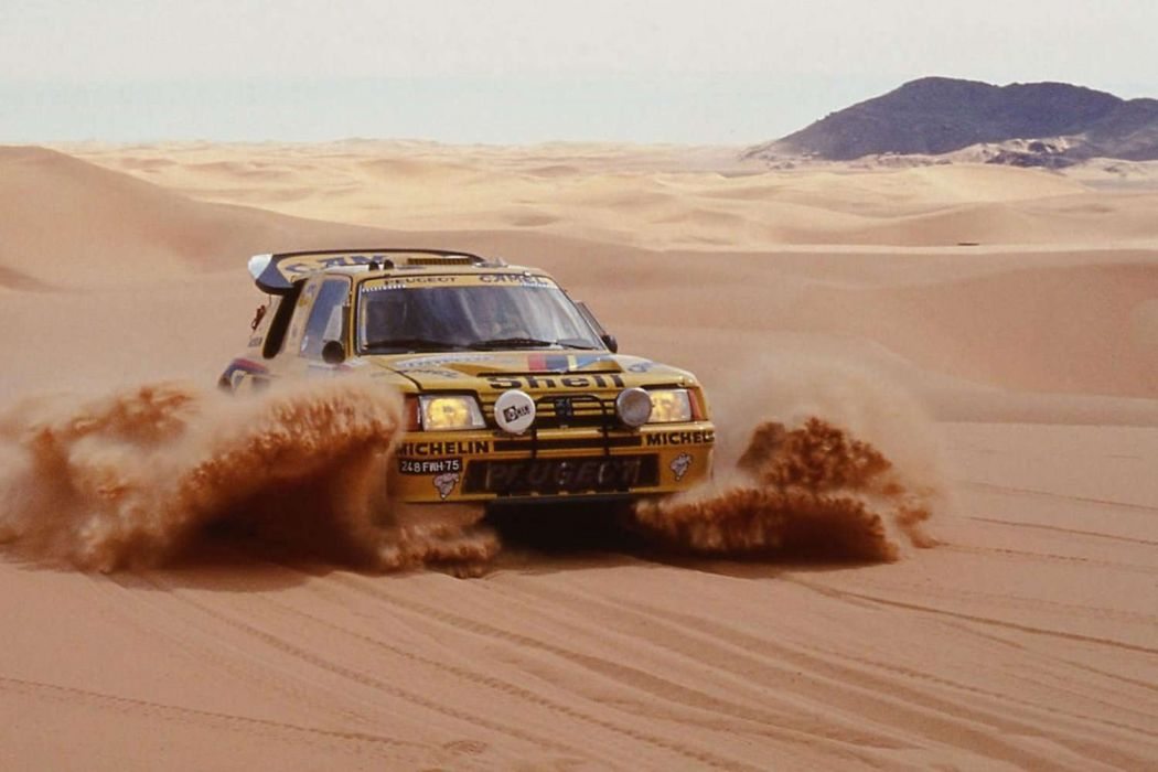 Peugeot 205 Turbo 16 Paris Dakar wallpaper