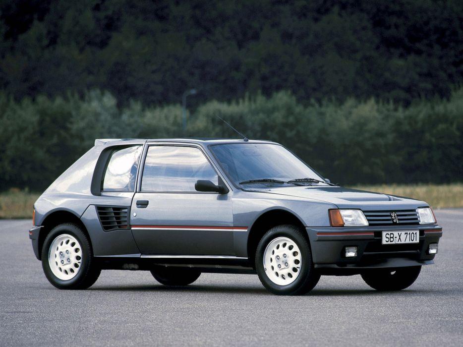 Peugeot 205 T16 1984 wallpaper