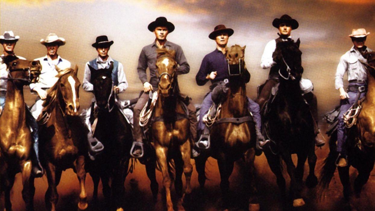 los 7 magnificos pelicula wester wallpaper