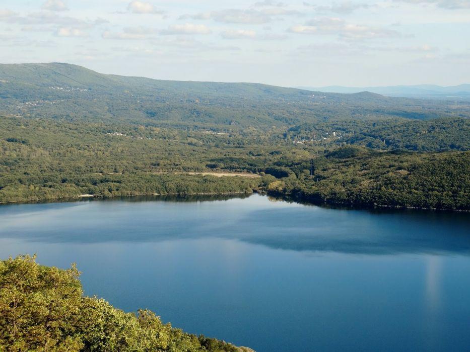 lago naturaleza bosque wallpaper