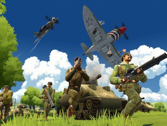 clasico video juego belico wallpaper