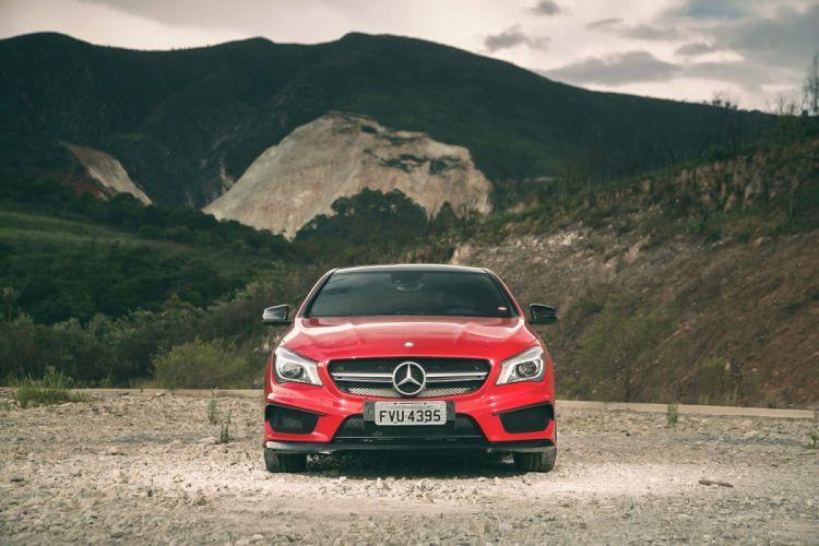 Mercedes-Benz CLA45 AMG wallpaper