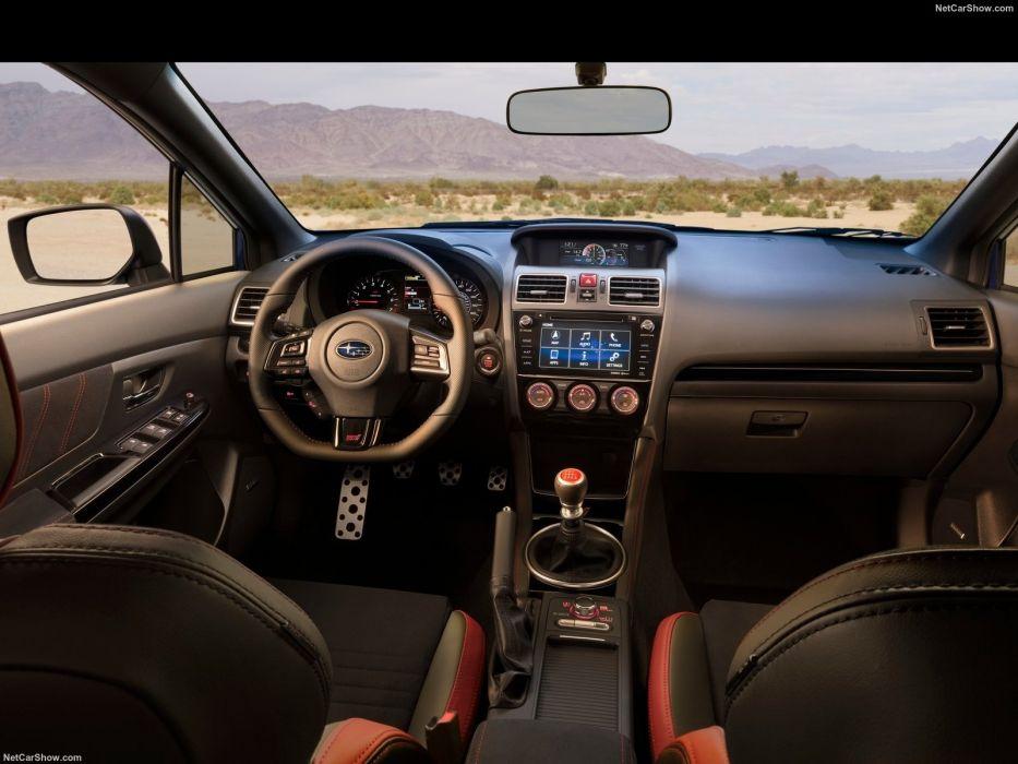 Subaru WRX STI 2018 wallpaper