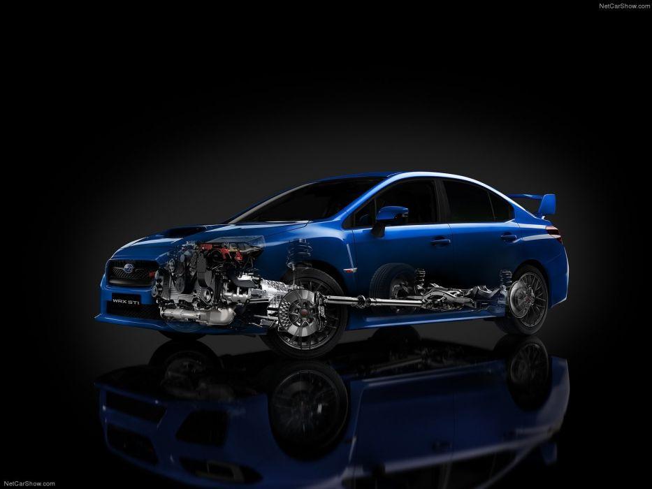 Subaru WRX STI 2015 wallpaper