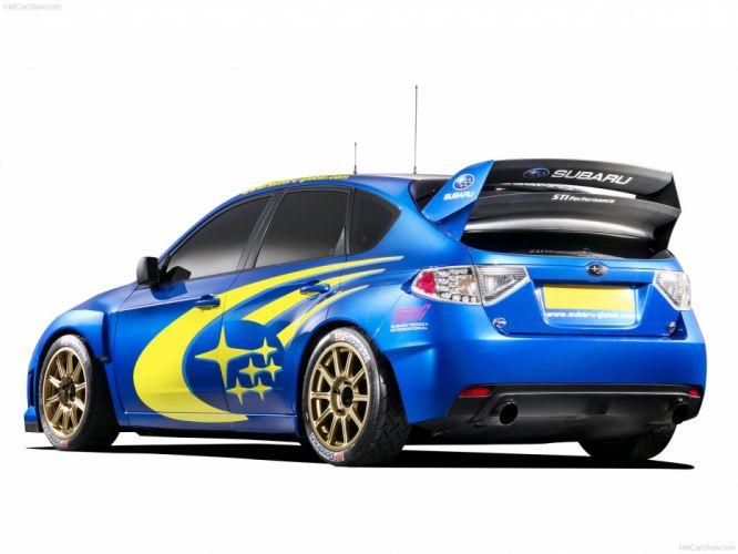 Subaru WRC Concept Rally Car wallpaper