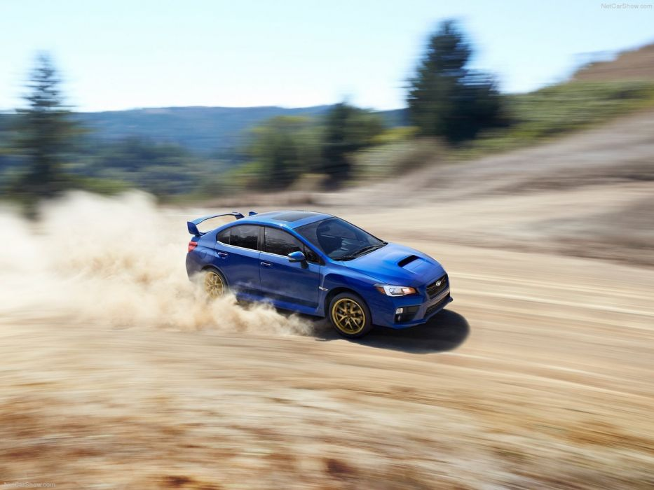 Subaru WRX STI 2015 wallpaper