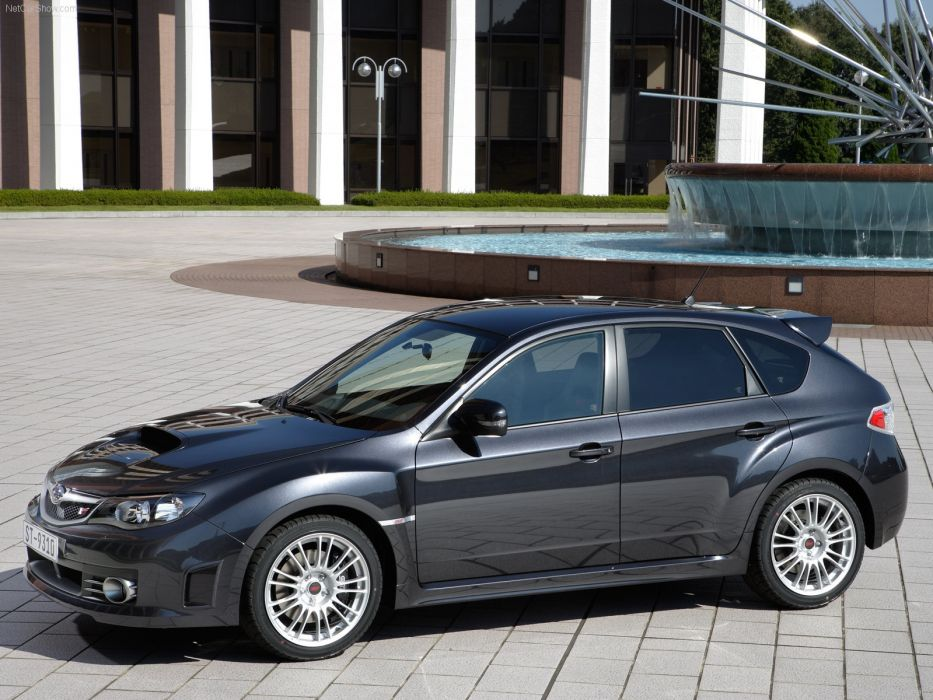 Subaru Impreza WRX STI 2008 Hatch wallpaper