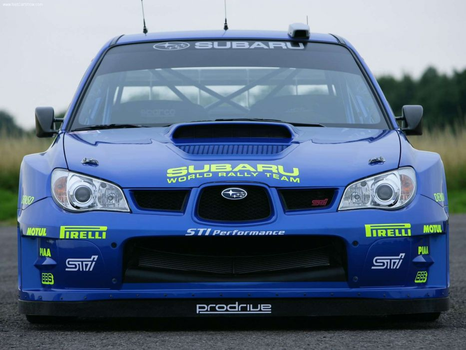 Subaru Impreza WRC Prototype Rally Car wallpaper