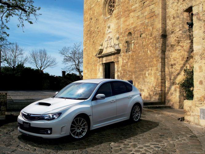 Subaru Impreza WRX STI 20th Anniversary 2009 wallpaper