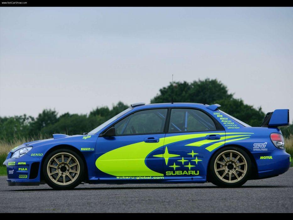 Subaru Impreza Wrc Prototype Rally Car Wallpaper 1600x1200