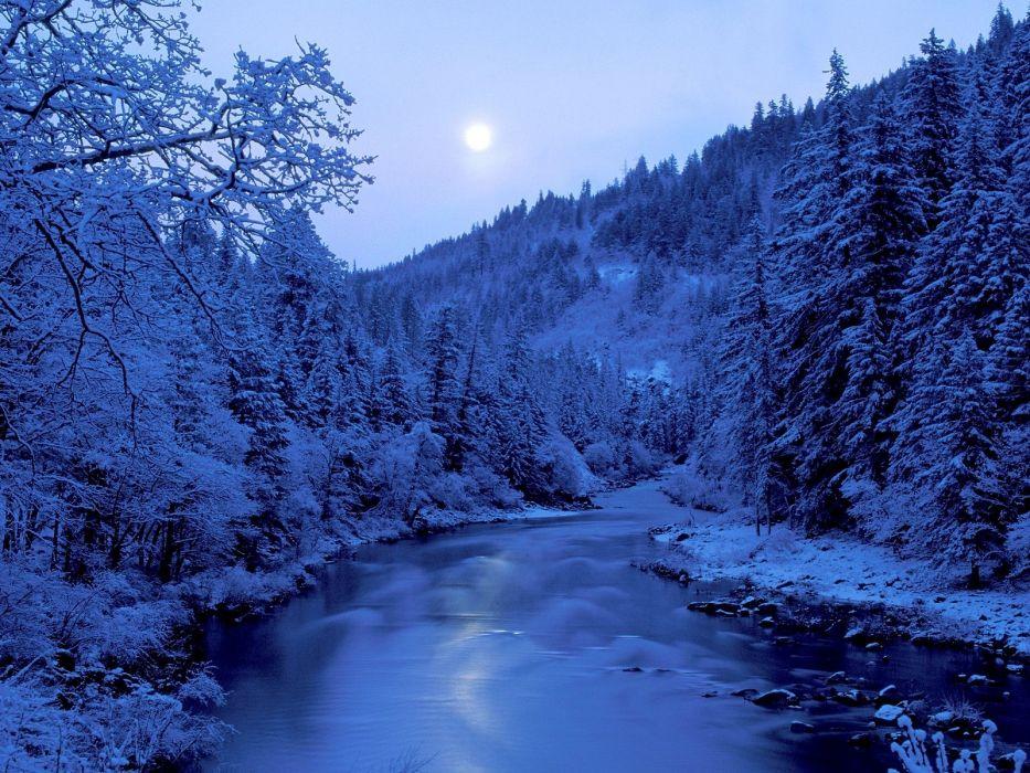 paisaje invierno naturaleza wallpaper
