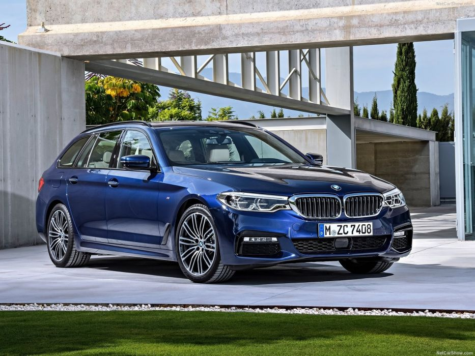 BMW 5-Series Touring cars wagon 2017 wallpaper
