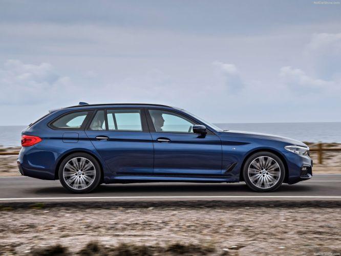 BMW 5-Series Touring cars wagon 2017 wallpaper