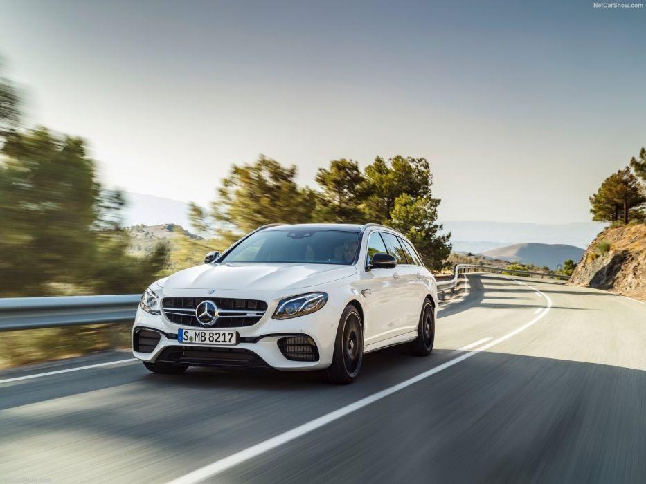 Mercedes Benz E63 (S) AMG Estate cars wagon wallpaper