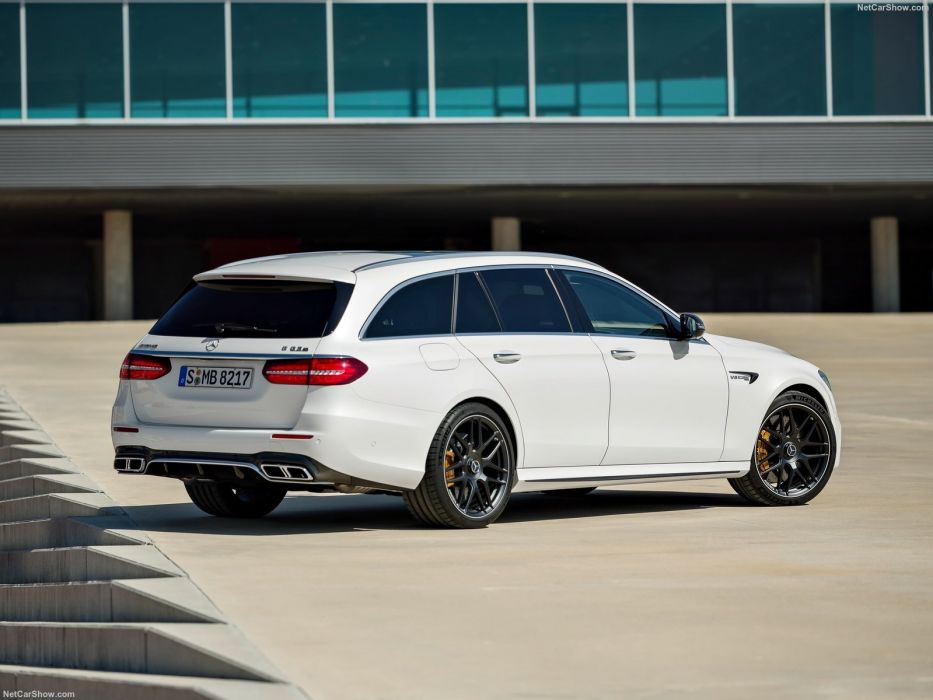 Mercedes Benz E63 (S) AMG Estate cars wagon wallpaper