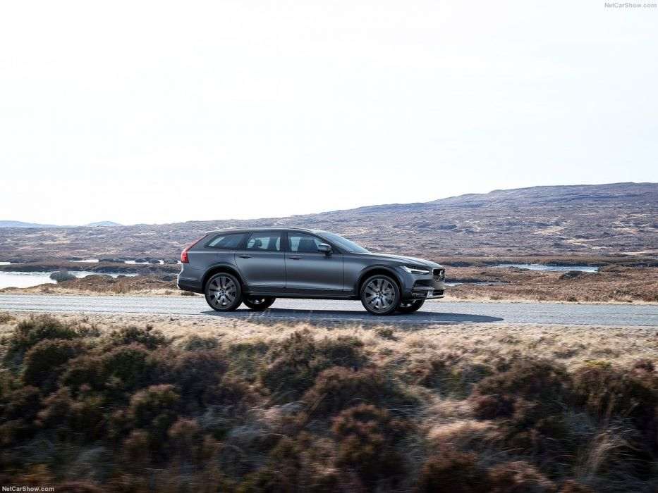 Volvo V90 Cross Country cars wagon 2017 wallpaper