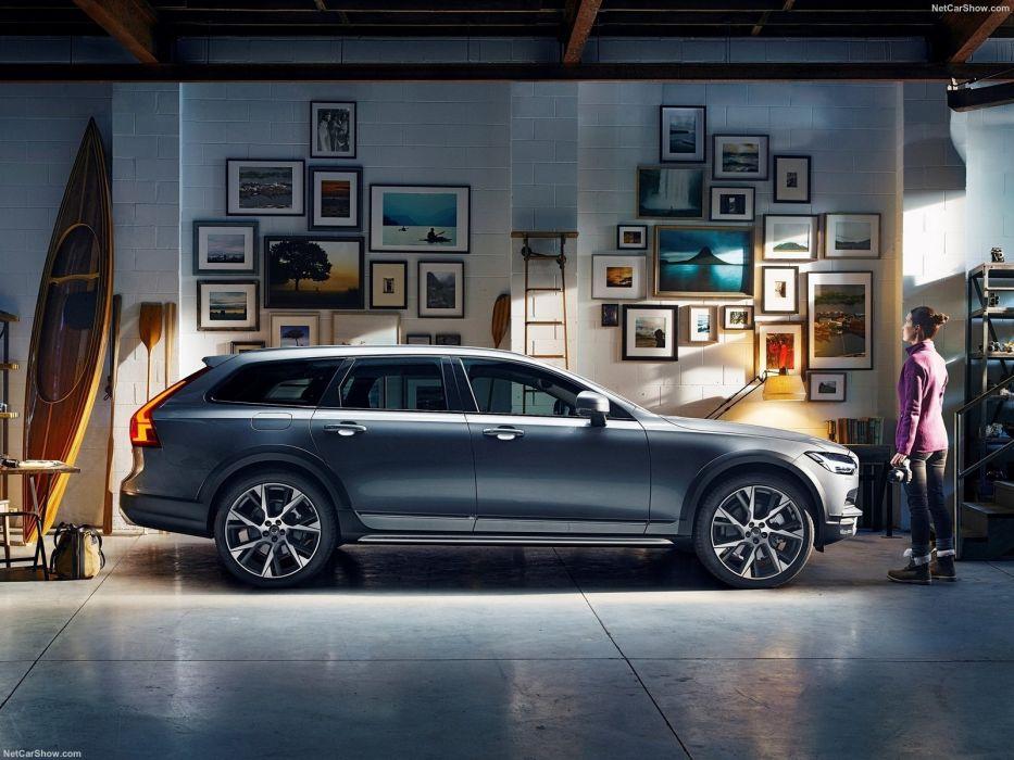 Volvo V90 Cross Country cars wagon 2017 wallpaper