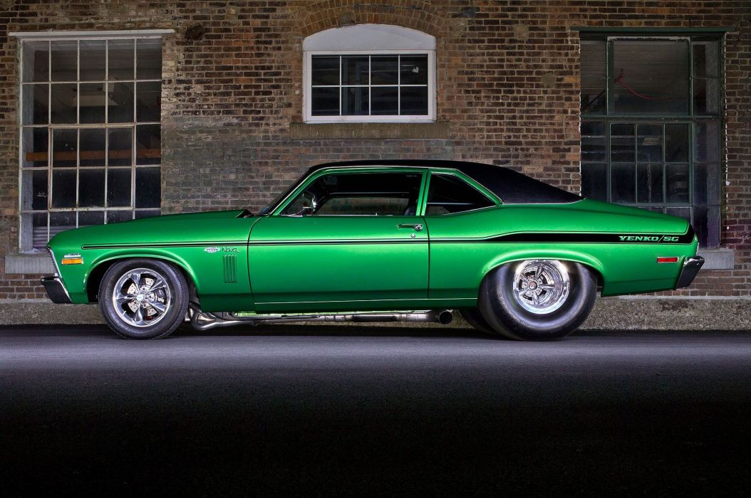 1972 Nova Yenko cars green wallpaper