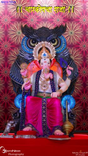 Charkop cha raja 2017 wallpaper UV's Creation Apurva Nikam photography wallpaper