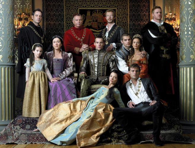 The Tudors serie tv historica wallpaper
