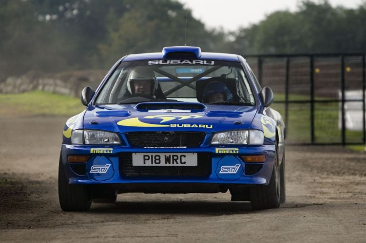 Subaru Impreza WRC Rally Car wallpaper