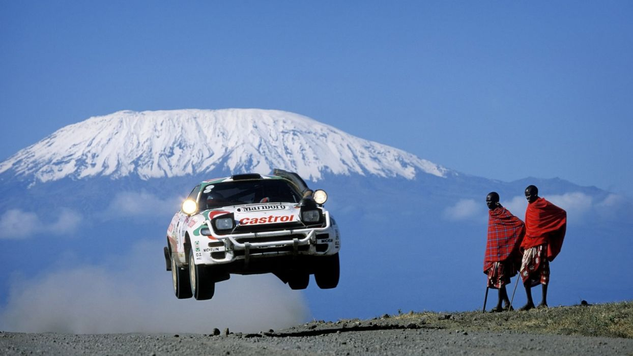 Toyota Celica WRC Rally Car wallpaper