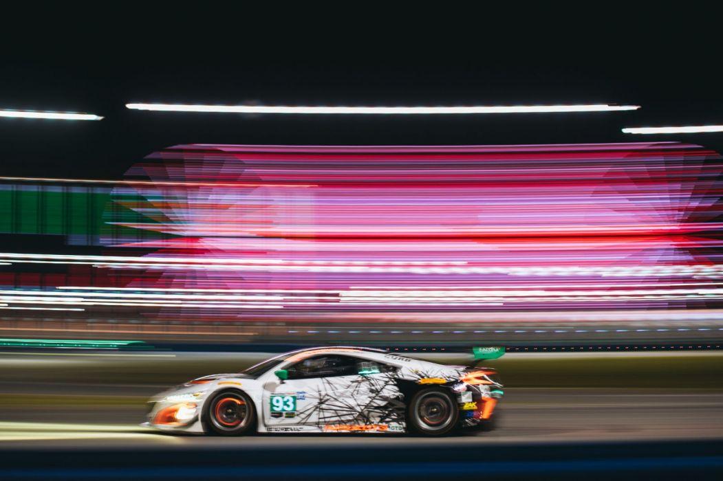 Acura NSX GT3 Race Car wallpaper