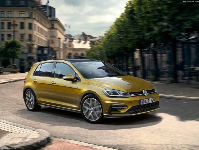 Volkswagen 2017 Golf cars wallpaper