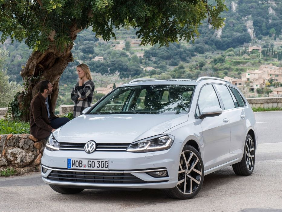 Volkswagen 2017 Golf Variant cars wagon wallpaper