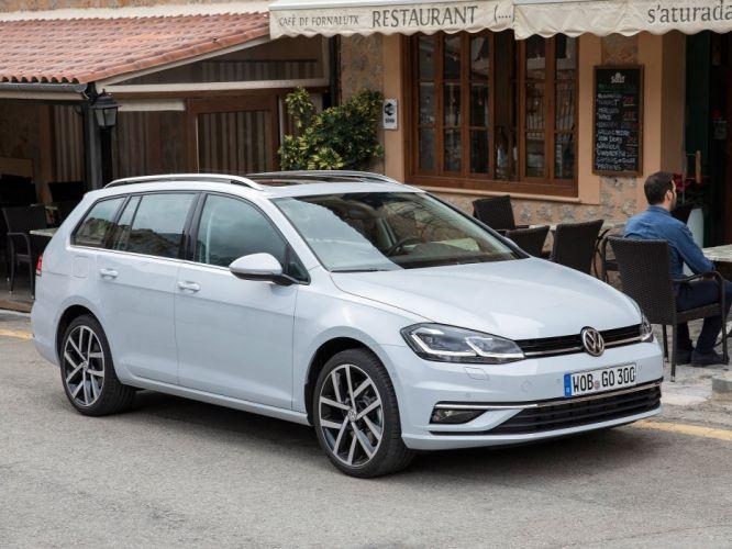 Volkswagen 2017 Golf Variant cars wagon wallpaper
