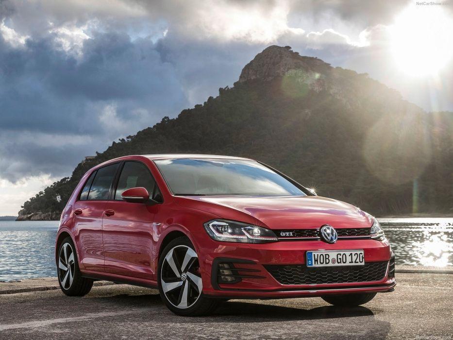 Volkswagen 2017 Golf GTI cars wallpaper