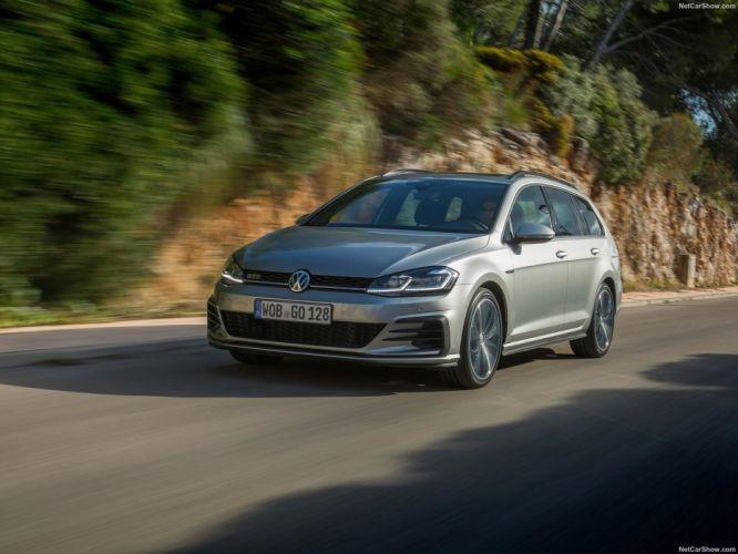 Volkswagen 2017 Golf GTD Variant cars wagon wallpaper