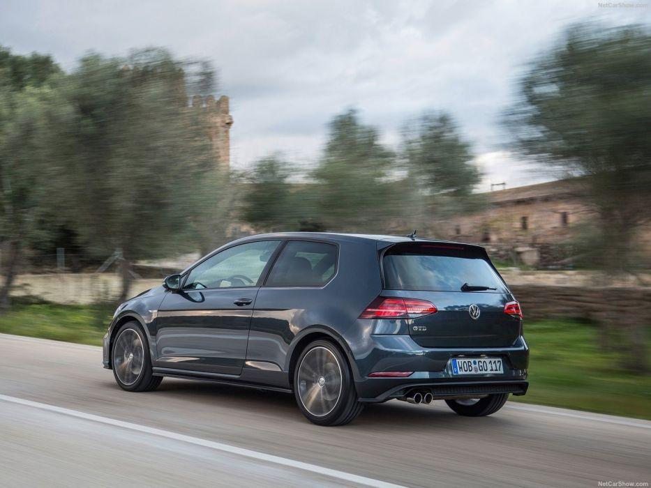 Volkswagen 2017 Golf GTD Variant cars wallpaper
