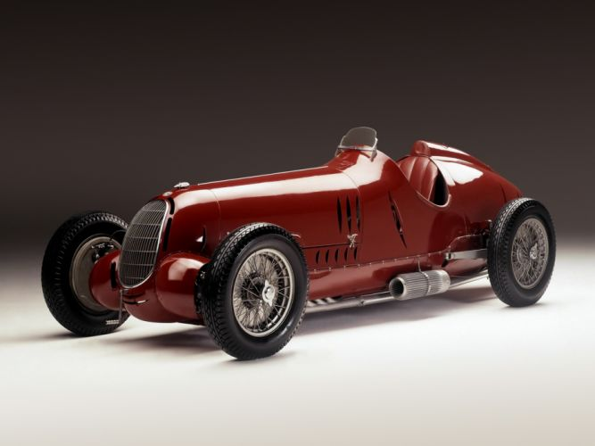 Alfa Romeo Tipo C Gran Prix Classic Race Car wallpaper
