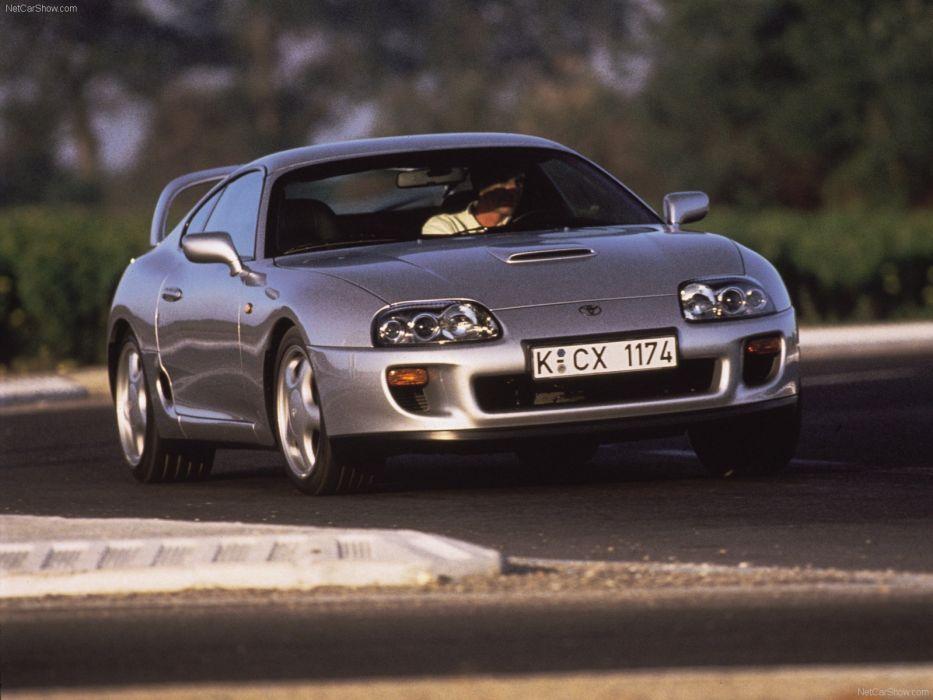 Toyota Supra 1996 wallpaper