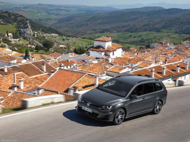 Volkswagen Golf GTD Variant 2015 wallpaper