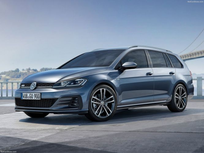 Volkswagen Golf GTD Variant 2018 wallpaper