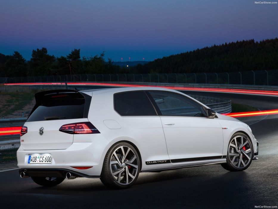 Volkswagen Golf GTI Clubsport 2016 wallpaper
