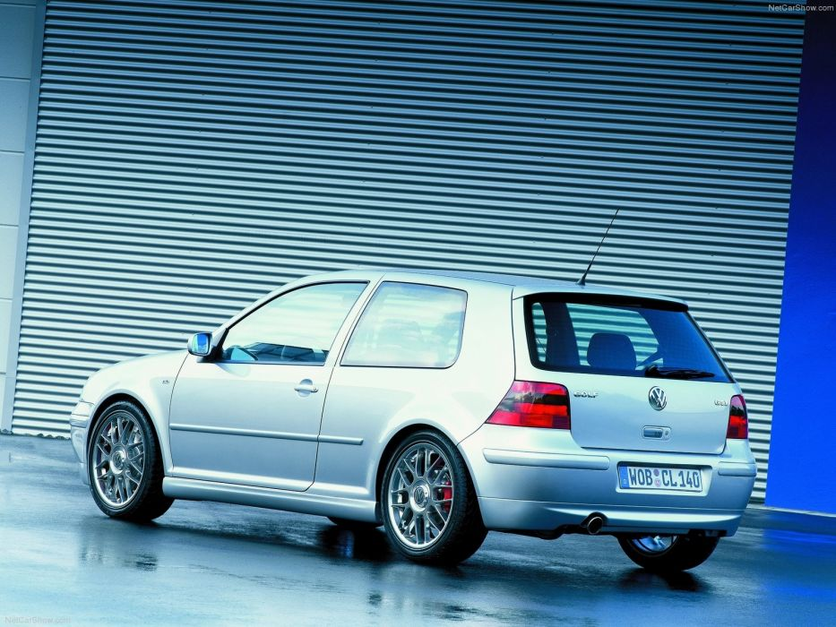 Volkswagen Golf GTI 25th Anniversary 2001 wallpaper