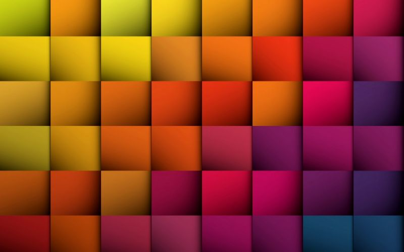 3D colors checks wallpaper