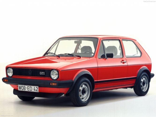 Volkswagen Golf GTI MkI wallpaper