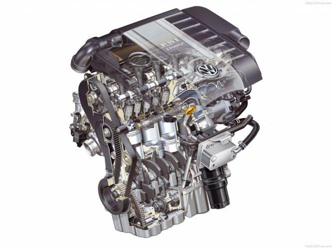 Volkswagen Golf GTI MkV Engine Cutaway wallpaper