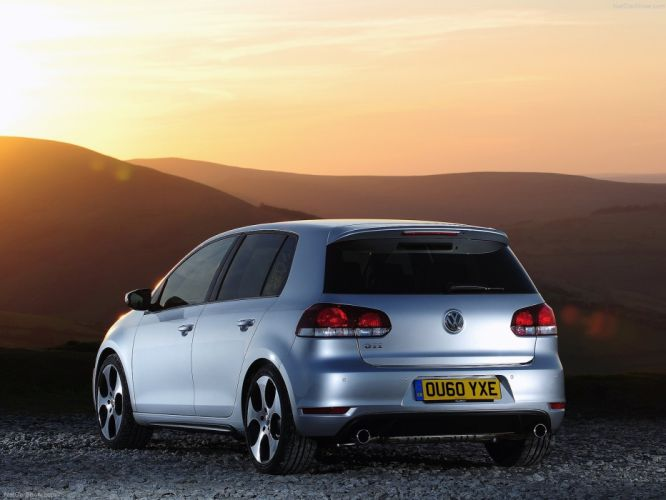 Volkswagen Golf GTI MkVI wallpaper