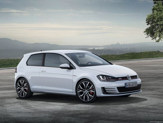 Volkswagen Golf GTI MkVII wallpaper