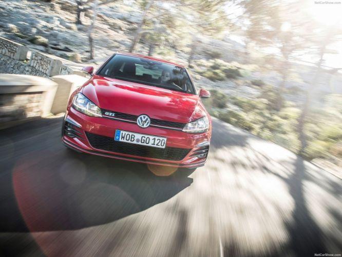 Volkswagen Golf GTI MkVII 2017 wallpaper