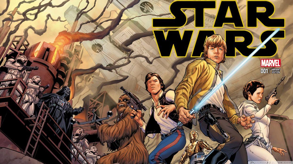 star wars marvel comic wallpaper