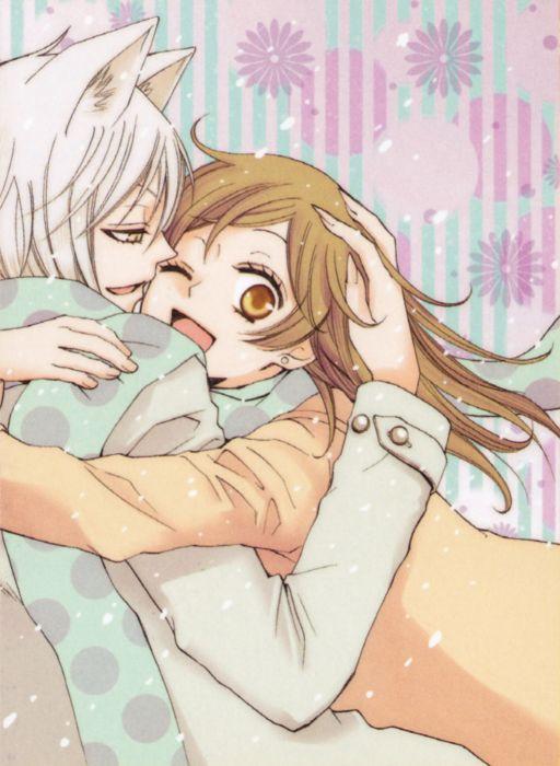 anime series couple love cute girl guy hajime wallpaper